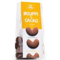 biscotti senza glutine inzuppi al cacao